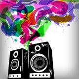 Fondo del concepto de la música Fotografía de archivo libre de regalías