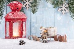 Fondo del concepto de la Navidad Fotografía de archivo libre de regalías