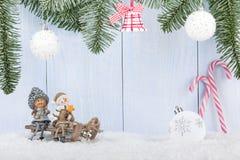 Fondo del concepto de la Navidad y del Año Nuevo Imagen de archivo libre de regalías