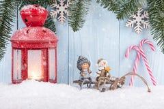 Fondo del concepto de la Navidad y del Año Nuevo Fotografía de archivo libre de regalías