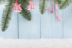 Fondo del concepto de la Navidad y del Año Nuevo Fotos de archivo