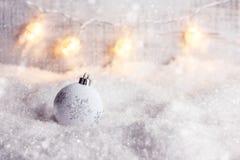 Fondo del concepto de la Navidad y del Año Nuevo Fotografía de archivo
