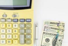 Fondo del concepto de las finanzas personales imagen de archivo
