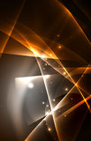 Fondo del concepto de las luces polares del vector Fotografía de archivo
