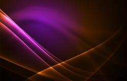 Fondo del concepto de las luces polares del vector Foto de archivo libre de regalías