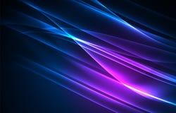 Fondo del concepto de las luces polares del vector Imagen de archivo libre de regalías