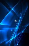 Fondo del concepto de las luces polares del vector Foto de archivo
