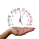 Fondo del concepto del reloj del negocio Fotografía de archivo