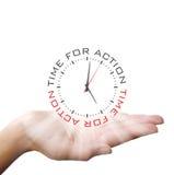 Fondo del concepto del reloj del negocio Imagenes de archivo