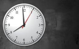 Fondo del concepto del reloj del negocio Imágenes de archivo libres de regalías
