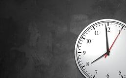 Fondo del concepto del reloj del negocio Fotos de archivo libres de regalías