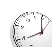 Fondo del concepto del reloj del negocio Fotografía de archivo libre de regalías