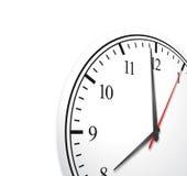 Fondo del concepto del reloj del negocio Fotos de archivo