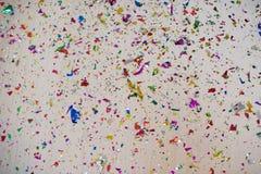 Fondo del confeti Imagen de archivo