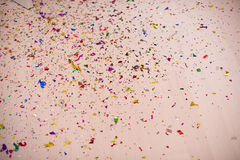 Fondo del confeti Imagen de archivo libre de regalías
