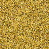 Fondo del confeti del oro stock de ilustración