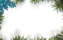 Fondo del confine della struttura del nuovo anno e di Natale immagini stock