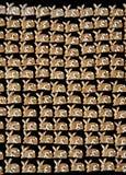 Fondo del coniglietto del pan di zenzero Fotografie Stock