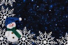 Fondo del copo de nieve Imágenes de archivo libres de regalías