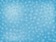 Fondo del copo de nieve Imagen de archivo libre de regalías