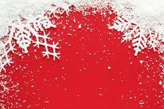 Fondo del copo de nieve Fotografía de archivo libre de regalías