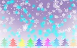 Fondo del copo de nieve de la Feliz Navidad libre illustration