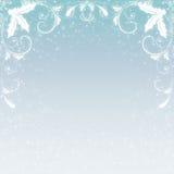 Fondo del copo de nieve de la Navidad Fotografía de archivo libre de regalías
