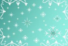Fondo del copo de nieve - vector Fotografía de archivo libre de regalías