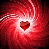 Fondo del corazón ilustración del vector