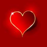 Fondo del corazón Imágenes de archivo libres de regalías