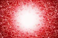 Fondo del corazón Imagenes de archivo