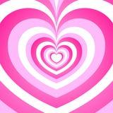 Fondo del corazón precioso Foto de archivo