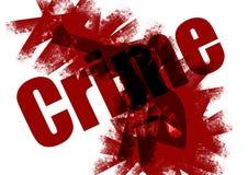 Fondo del crimen ilustración del vector