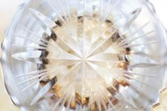 Fondo del cristal Imágenes de archivo libres de regalías
