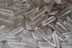 Fondo del cristallo di quarzo Immagini Stock Libere da Diritti