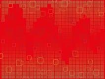 Fondo del cuadrado rojo Fotografía de archivo