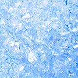 Fondo del cubo de hielo Foto de archivo libre de regalías