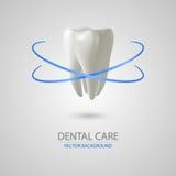 Fondo del cuidado dental Fotografía de archivo