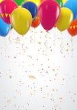 Fondo del cumpleaños ilustración del vector