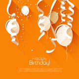 Fondo del cumpleaños libre illustration