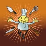 fondo del cuoco unico Fotografia Stock Libera da Diritti