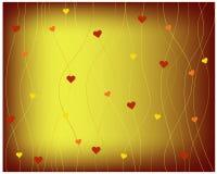 Fondo del cuore Royalty Illustrazione gratis