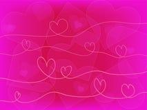 Fondo del cuore illustrazione di stock
