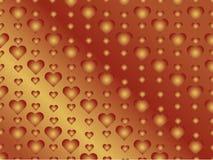 Fondo del cuore illustrazione vettoriale