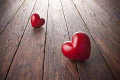 Fondo del cuore di amore Immagini Stock Libere da Diritti
