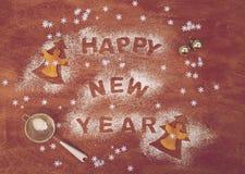 Fondo del día de Año Nuevo Imagen de archivo