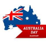 Fondo del día de Australia Fotos de archivo