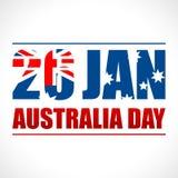 Fondo del día de Australia Fotografía de archivo libre de regalías