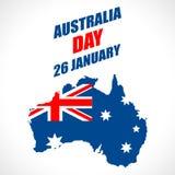 Fondo del día de Australia Imagen de archivo