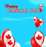 Fondo del día de Canadá Fotos de archivo